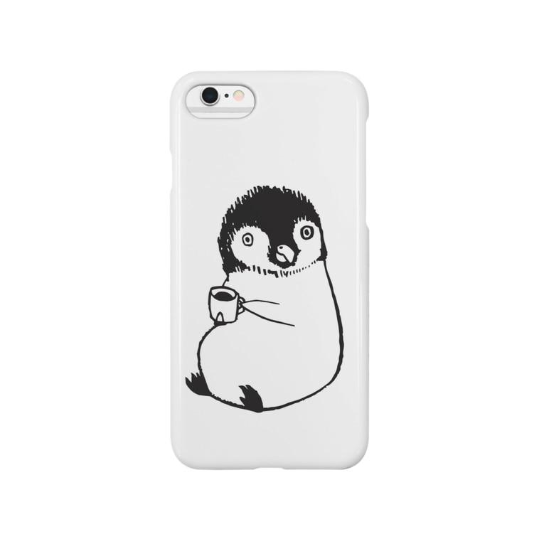 ふじの さきのちょこんと。ペンギン Smartphone cases
