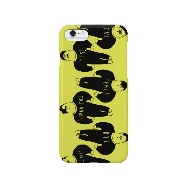 saecon20の語る男子団体 Smartphone cases