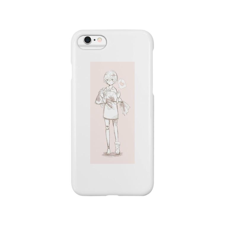 中田紫苑の女の子 Smartphone cases