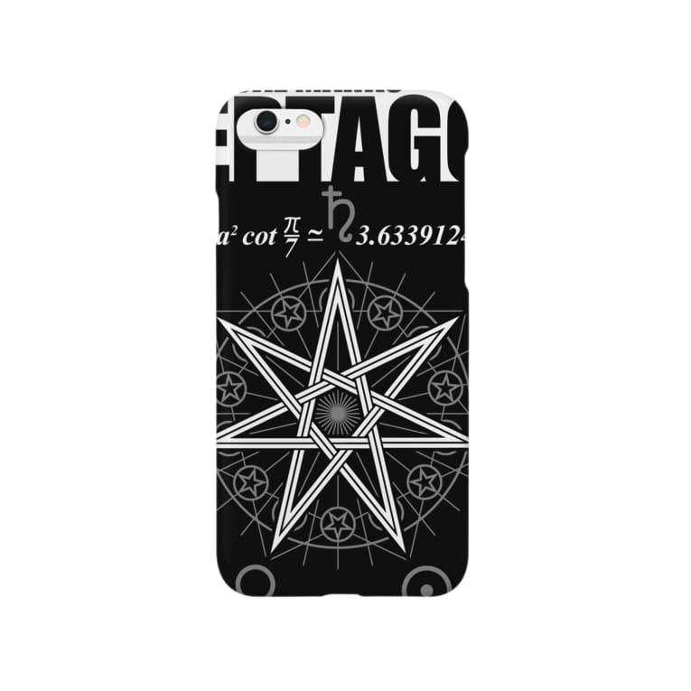 KuuMaの七芒星 Smartphone cases