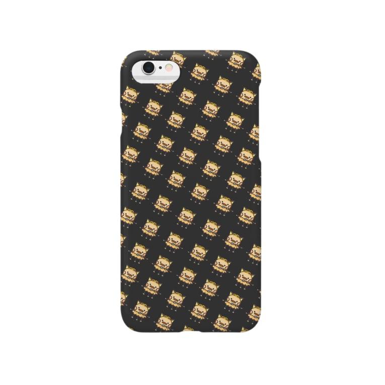 keryの棘ケースver.kerry(黒) Smartphone cases