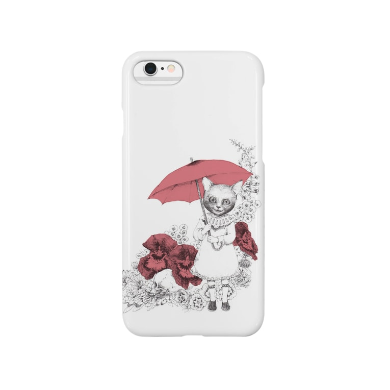 maooのネコと傘 Smartphone cases