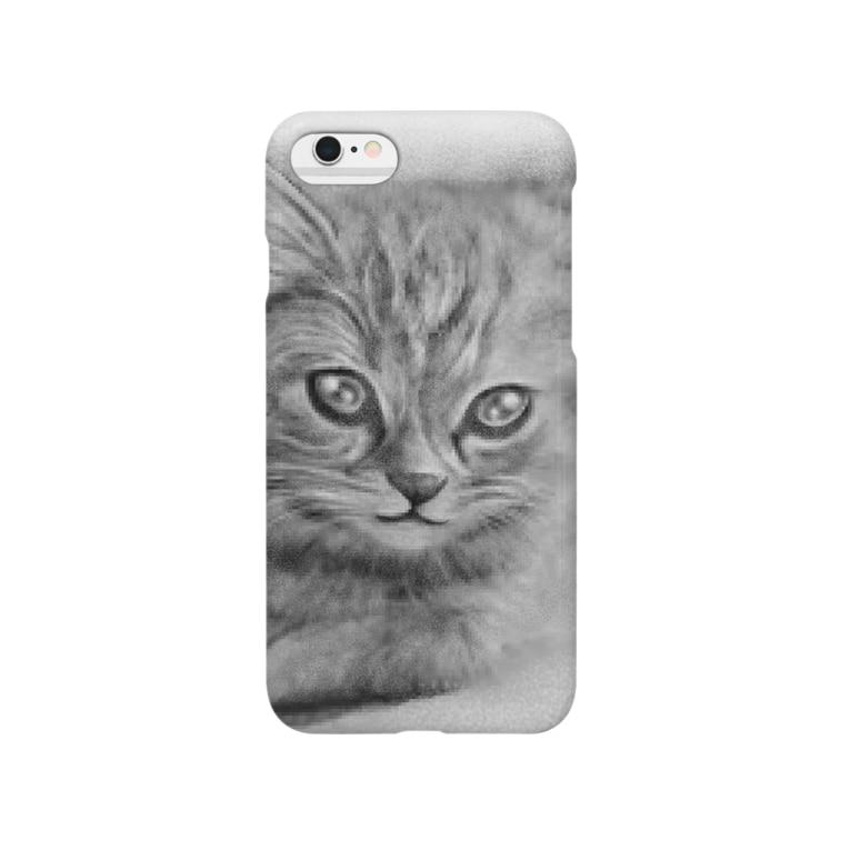 0206のリアル猫(仮) Smartphone cases