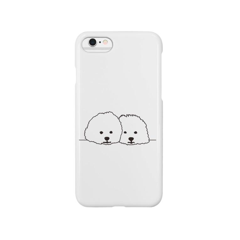 parkmansionのmamegoma02 Smartphone cases