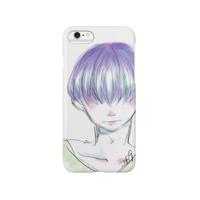 JB9の照れ屋の少年 Smartphone Case
