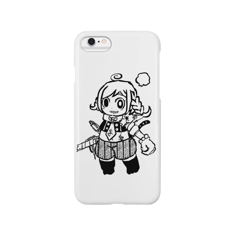 夏至タルトのてんぺろちゃん Smartphone cases