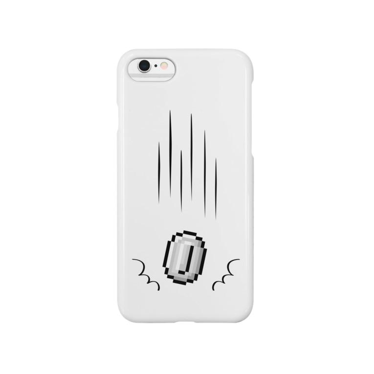 ikedasanの棚からコイン Smartphone cases