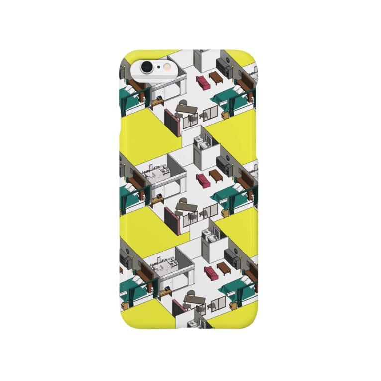 ₍₍ 〆鯖のようなもの ⁾⁾のおへやさん Smartphone cases