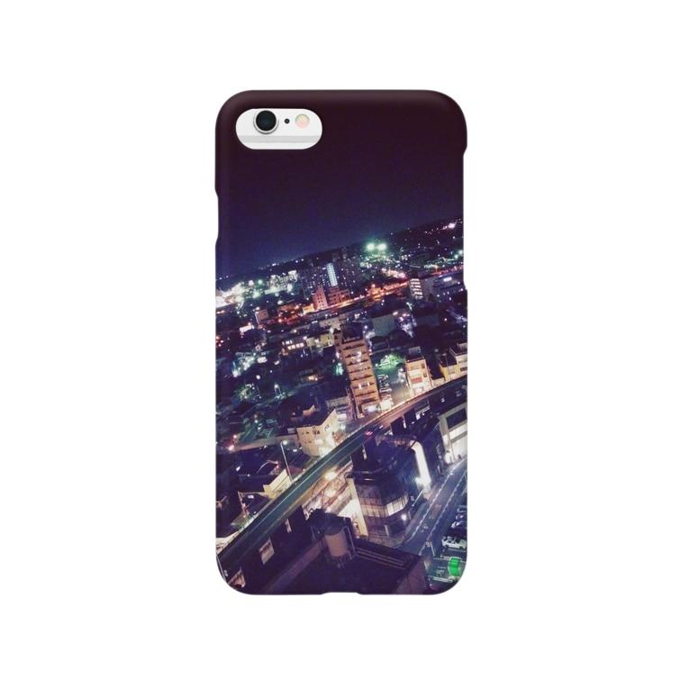 ⚡juri⚡の夜景 Smartphone cases