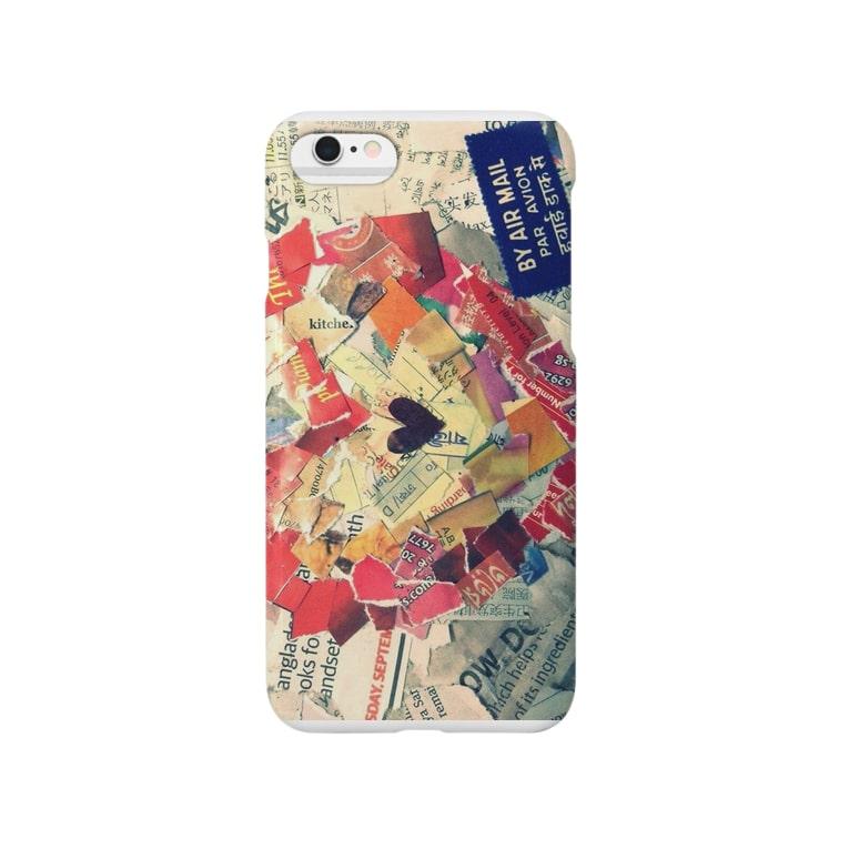 MAKIKOのheart of language Smartphone cases