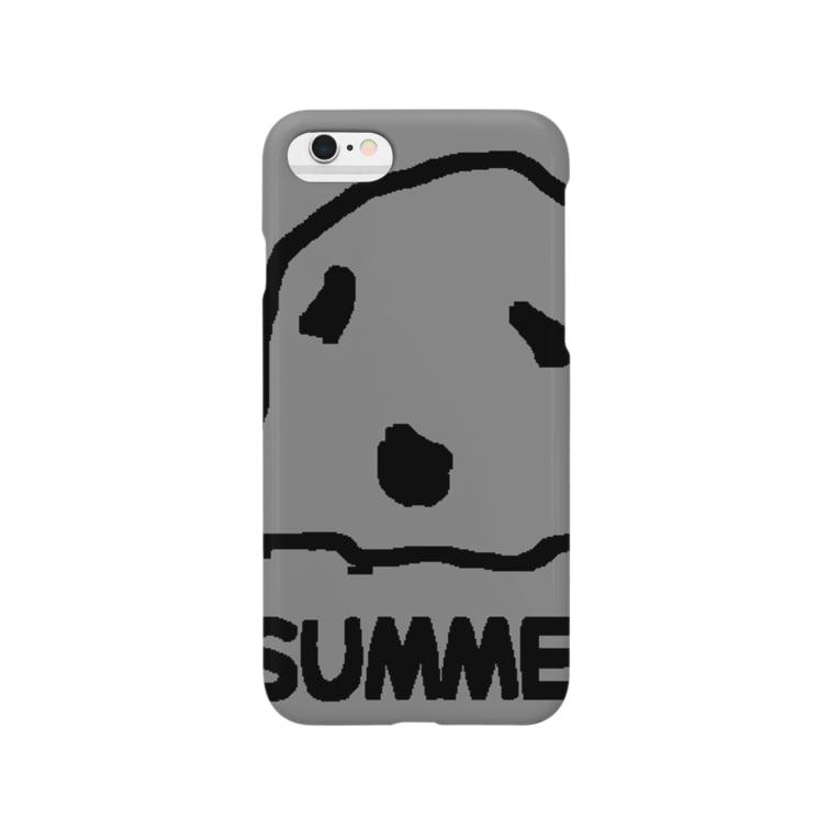 summer(さまー)のsummer(さまー)goods black Smartphone cases