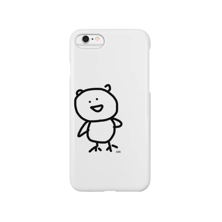 335shopのfuku335 Smartphone cases