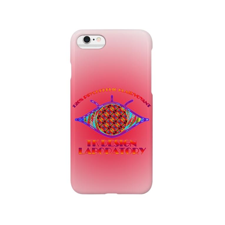 TK DESIGN LABORATORYのTKDL「Psychedelic Clairvoyant」 Smartphone cases