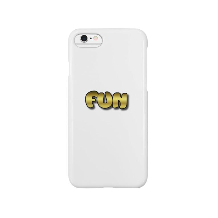 鉄拳制裁 喧嘩FXのFUNゴールド Smartphone cases
