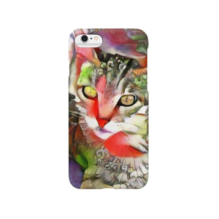 yoshica's design caféのネコ[ゆめかわ] Smartphone cases