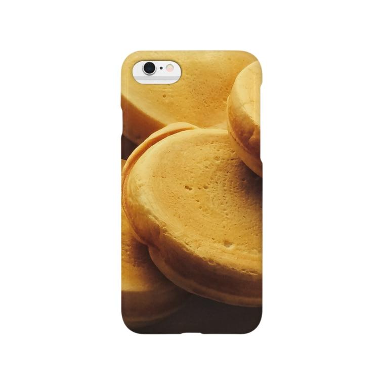 lucky wonder worldの今川焼 Smartphone cases