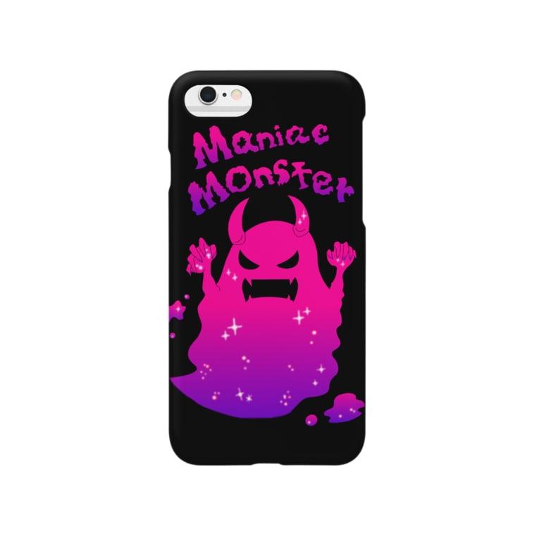 桃原のマニアックモンスター Smartphone cases