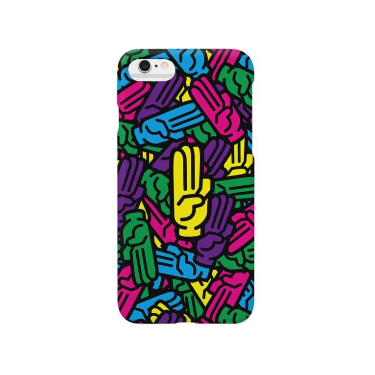 M-king【マーキング】のThreePiece(三本指) Smartphone cases