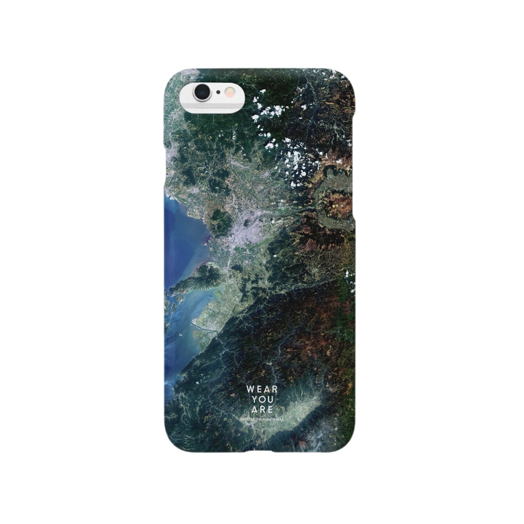 WEAR YOU AREの熊本県 上益城郡 スマートフォンケース Smartphone cases