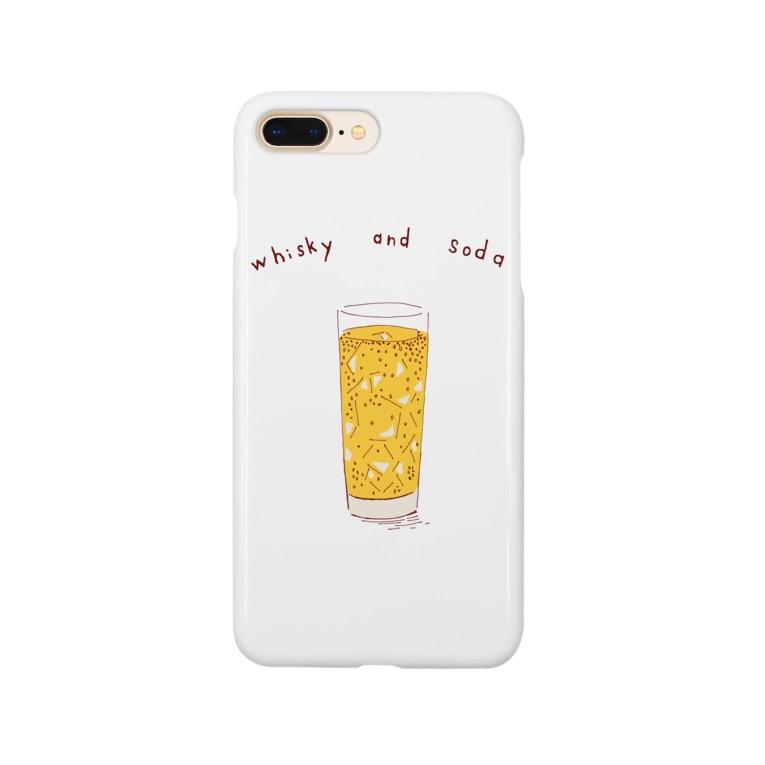 NIKORASU GOのハイボール好き専用デザイン Smartphone cases