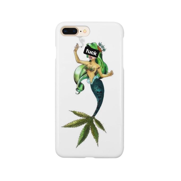 Atsuki____Bassのリトル・マーメイド 「fuck」 Smartphone Case
