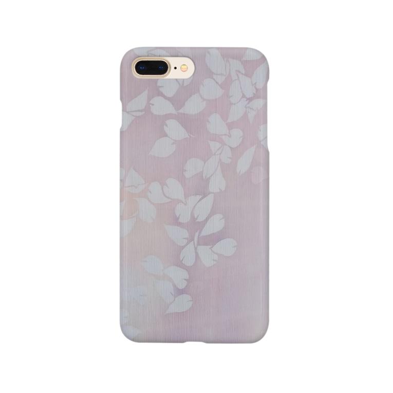art-healing-awazuの桜 今栄りなり Smartphone cases