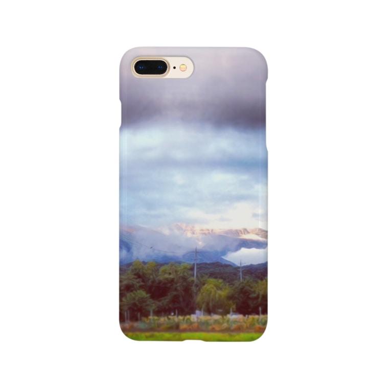 utsumiemaの安曇野風景 Smartphone cases