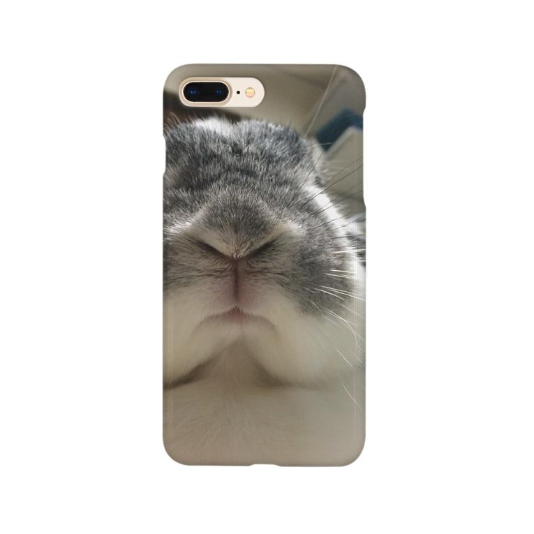 tobikageのウサマニア Smartphone cases