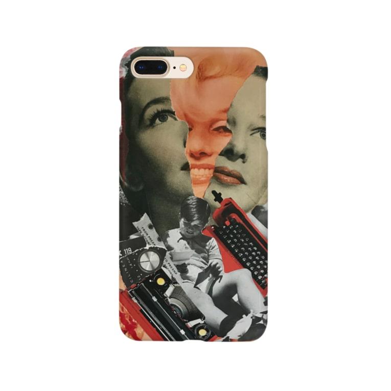 chisacollageのモンロー Smartphone Case