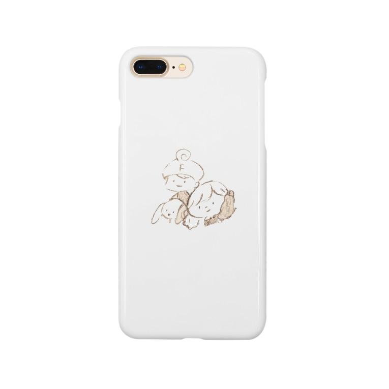 フロキャルズ のfriends Smartphone cases