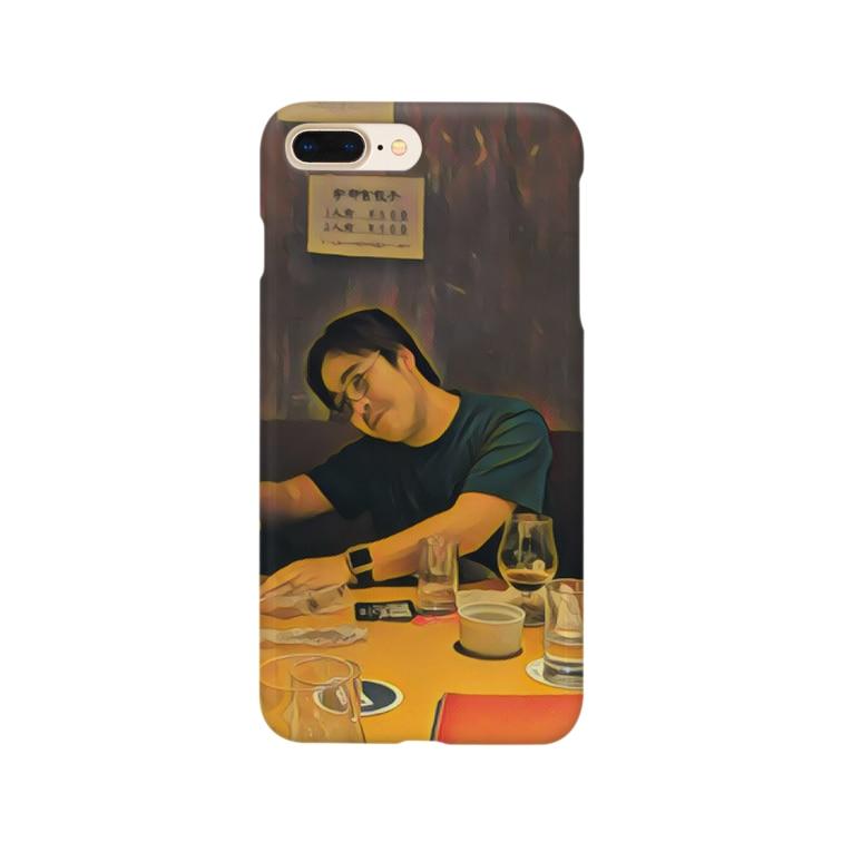 辛子明太子の名画「JavaScriptのthisを教えるpastak」 Smartphone cases