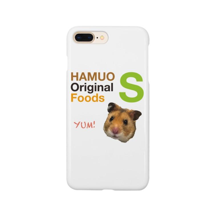 USAOTODAYのHAMUO ORIGINAL Sシリーズ Smartphone cases