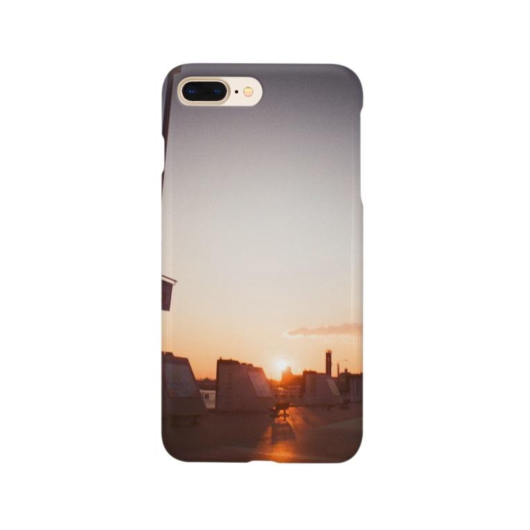 ゆみ△▼のいつかの夕焼け Smartphone cases