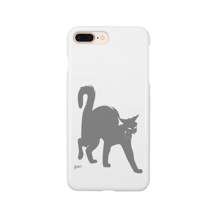 GURI  factoryのおこねこ Smartphone cases