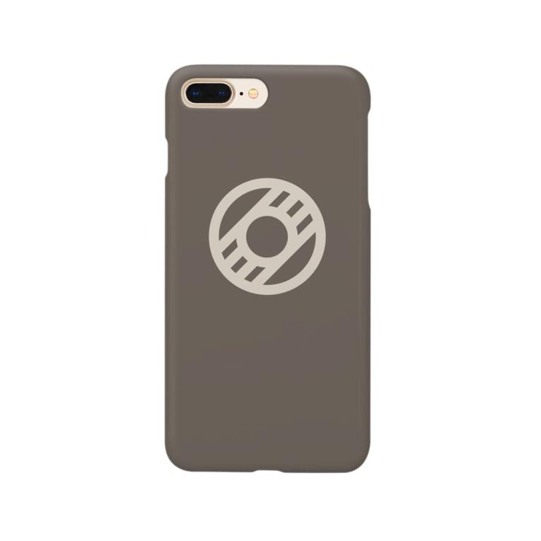 Moustache ProduktのLaosk(Brown) Smartphone Case