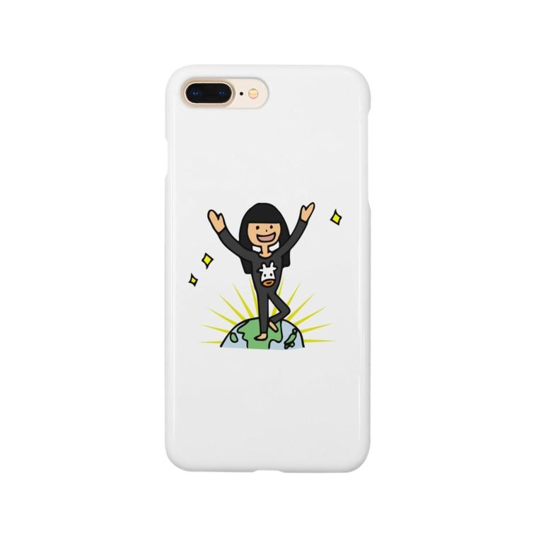 chihirotomitaの【ウシ子さん】とうちゃく Smartphone cases