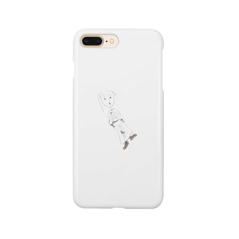 sasacoofiの絶妙な服のセンス Smartphone cases