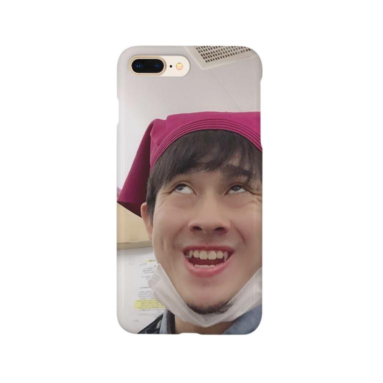yudai_boy_d_44の平野智也専用iPhoneケース Smartphone cases