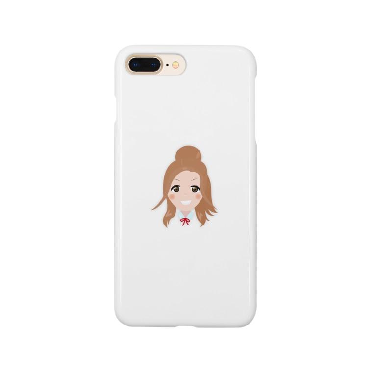 千画本舗の藍田 ちえみ Smartphone cases