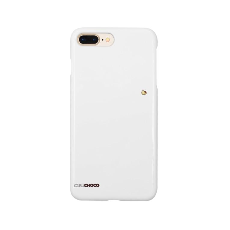 PACkageオフィシャルのミルクチョコロゴグッズデザインA Smartphone cases