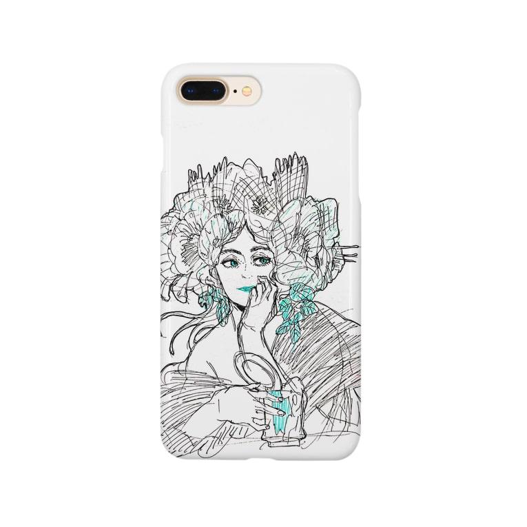 hanamituの女性の憂鬱 Smartphone cases