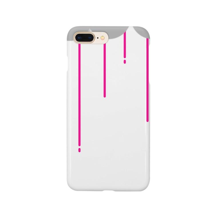 nyoroの雨の日 Smartphone cases