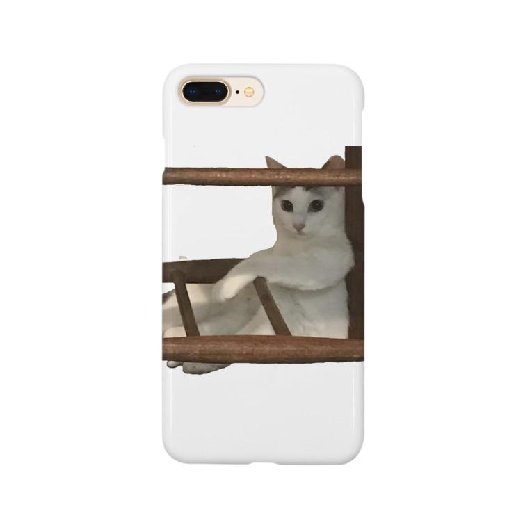 猫のリリィの猫のリリィ Smartphone cases