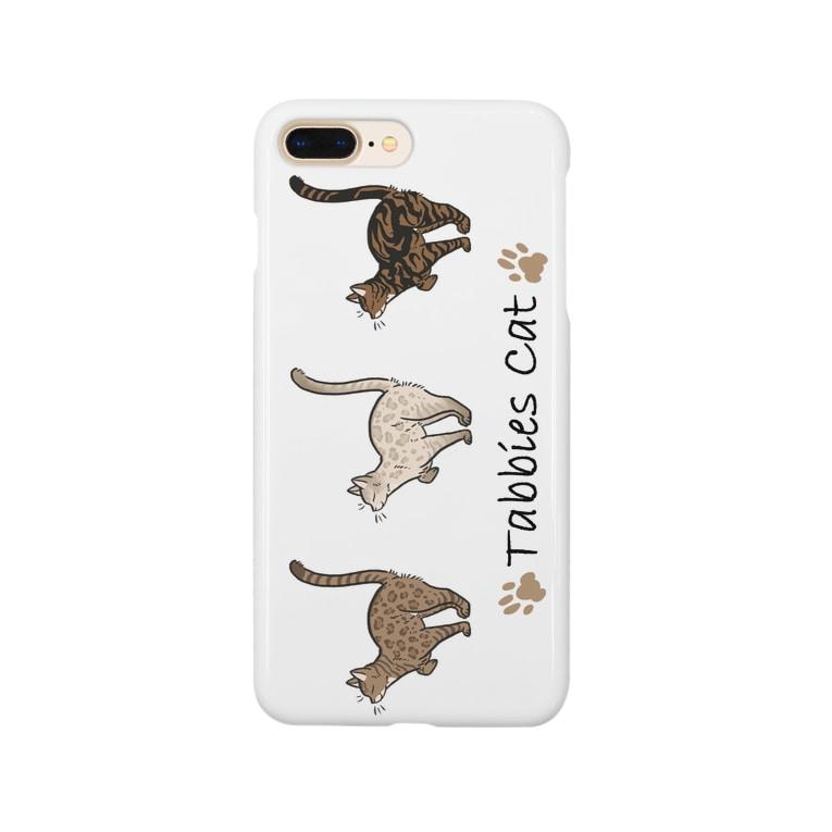 豆つぶのTabbies Cat(ロゼット/ベンガル) Smartphone Case