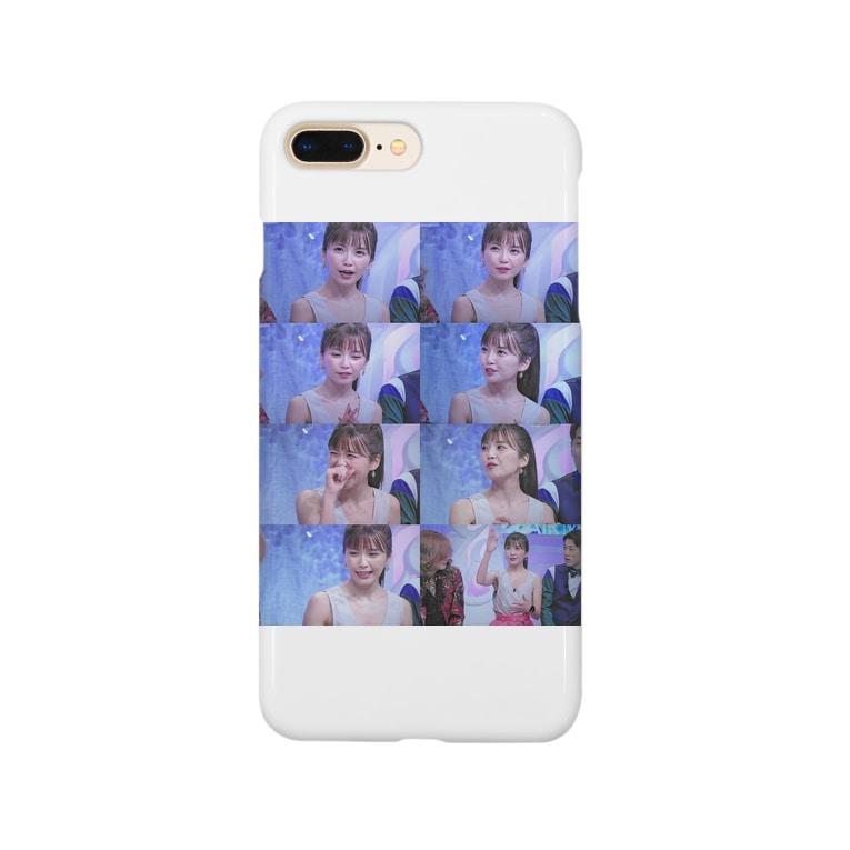 Jjjukaの宇野実彩子スマホケース メモ帳 Smartphone cases