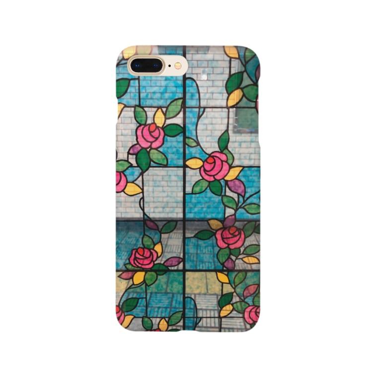ユメノのステンドグラス Smartphone cases