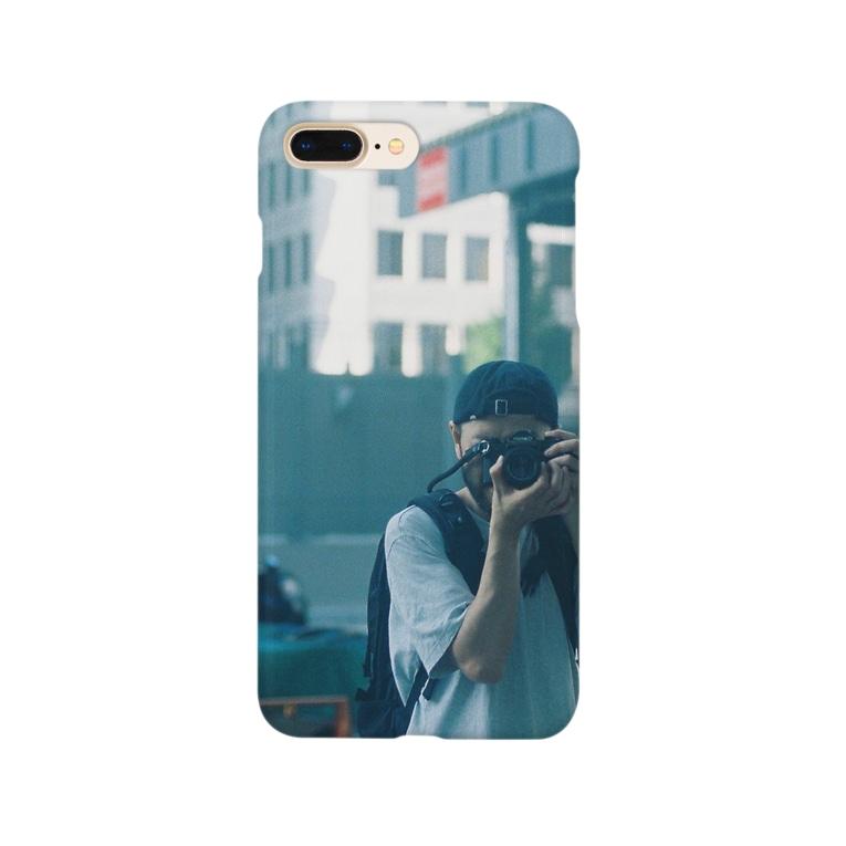 barberwatanabeのBARBER WATANABE ORIGINAL GOODS Smartphone cases