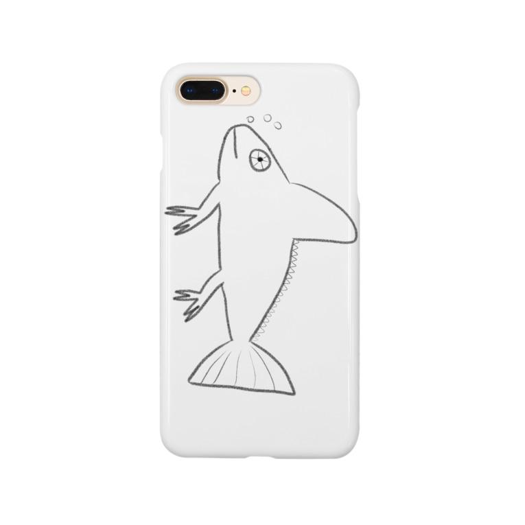 エキゾチックパートナーズのニセエボシカメレオンダマシ#2 カメレオンフィッシュ(縦) Smartphone cases
