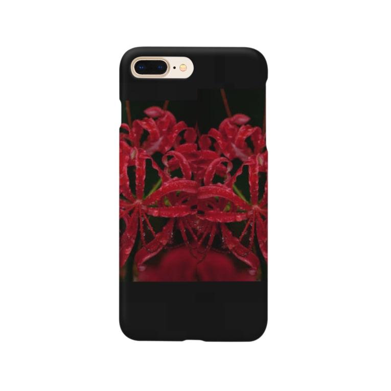 Wickedの彼岸花3 Smartphone cases