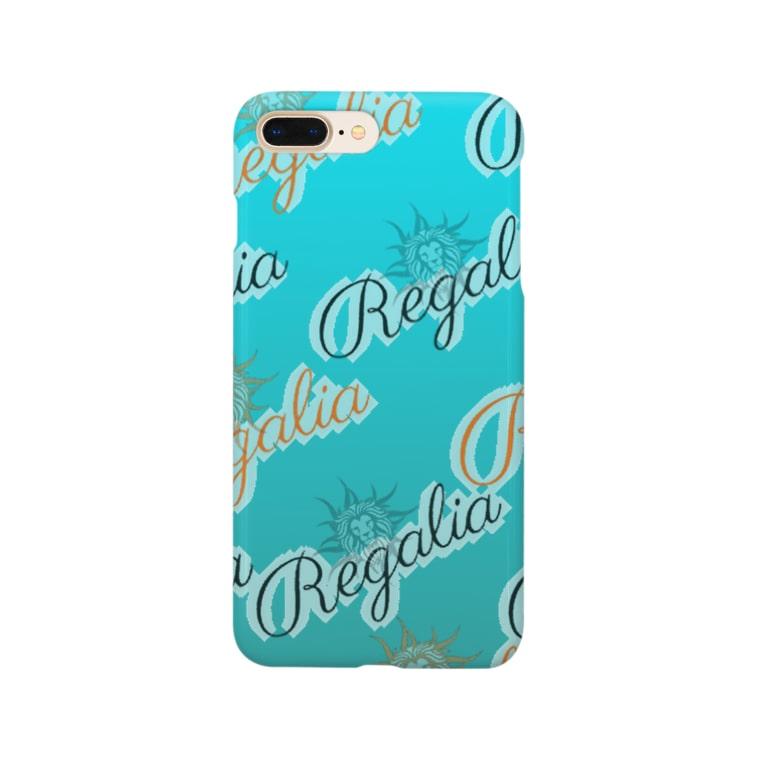 REGALIAのRegalia Sea color Smartphone cases